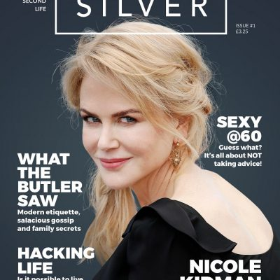 Silver Magazine example cover Nicole Kidman interview www.silvermagazine.co.uk